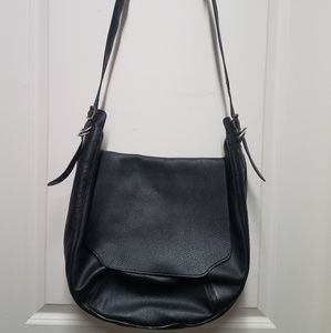 Rag and Bone Leather Black Crossbody
